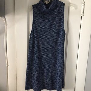 (UO) Silence and Noise Mock Neck Sweater Dress